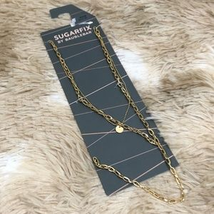 Sugarfix by Baublebar Gold Tone 2 Strand Necklace